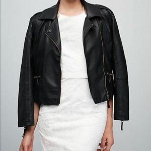 """Leather """"just married"""" jacket"""